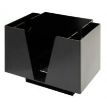 Bar Caddy Black 3 Compartments