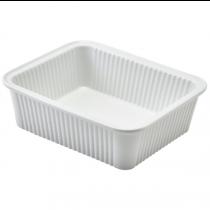 Royal Genware Fluted Rectangular Dish 17.5oz