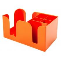 Bar Caddy Orange 6 Compartments