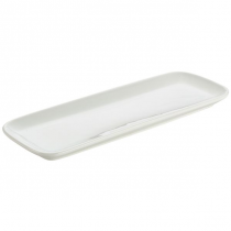 Royal Genware Ellipse White Porcelain Platters 27 x 10cm