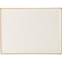 Porcelite Seasons Oatmeal Rectangular Platter 35 x 25cm