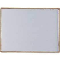 Porcelite Seasons Stone Rectangular Platter 35cm x 25cm