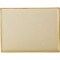 Porcelite Seasons Wheat Rectangular Platter 35cm x 25cm