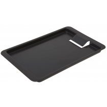 Black Plastic Tip Tray with Clip