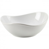 Royal Genware Organic Triangular Bowl 21 x 19.8 x 8.7cm
