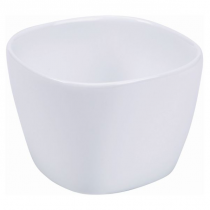 Royal Genware Ellipse Porcelain Bowls White 10.8 x 10.8 x 8cm
