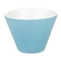 Porcelite Blue Conic Bowl 10cm