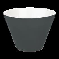 Porcelite Black Conic Bowl 12cm