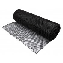 Sani-Dry Shelf Liner 10mtr Black