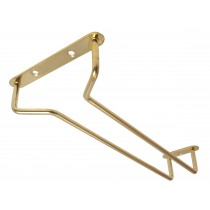 Glass Rack Brass Finish 10inch