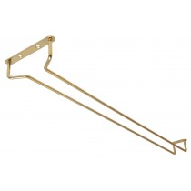 Glass Rack Brass Finish 24inch