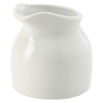 Royal Genware White Porcelain Cream Tot 7cl 2.5oz