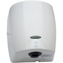 Magnum Blue Lightning Hand Dryer White