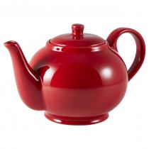 Teapot Red 30oz