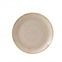 Churchill Stonecast Nutmeg Cream Coupe Plate 21.7cm