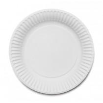 Paper Plate White 19cm