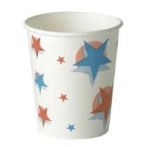 Star Design Paper Cups 9oz / 250ml