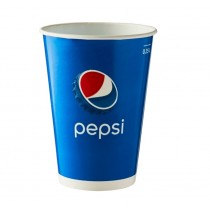 Disposable Pepsi Paper Cold Cup 9oz / 250ml