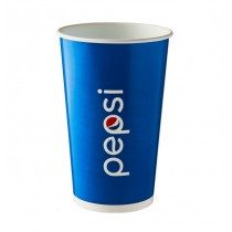 Disposable Pepsi Paper Cold Cups 12oz / 300ml
