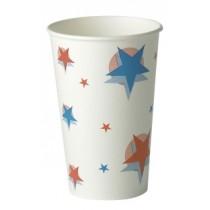 Star Design Paper Cups 16oz / 400ml