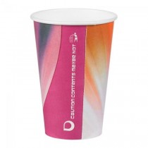 Disposable Prism Paper Vending Cups 9oz / 254ml