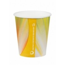 Squat Prism Paper Vending Cups 7oz / 210ml