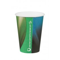 Disposable Tall Prism Paper Vending Cups 7oz / 210ml