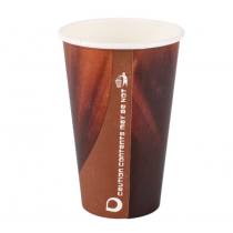 Disposable Prism Paper Vending Cups 12oz / 340ml