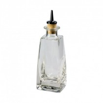 Dash Bottle Square With Cork Stopper 20cl / 7oz