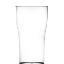 Econ Reusable Polystyrene Tulip 2 Pint Glasses CE 40oz / 1136ml