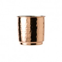 Hammered Copper Tumbler with Nickel Lining 30cl/10.5oz