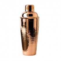 Cocktail Shaker Copper Plated 75cl 26.5oz