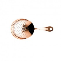 Copper Plated Julep Cocktail Strainer