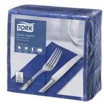 Tork Dark Blue Dinner Napkins 39cm 2ply 8 Fold