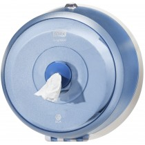 Tork SmartOne® Wave Mini Toilet Roll Dispenser Blue