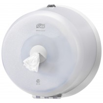 Tork SmartOne® Wave Mini Toilet Roll Dispenser White