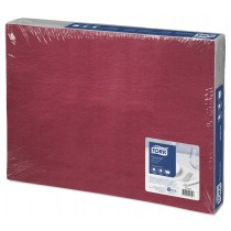 Bordeaux Red Paper Placemats