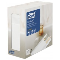 Tork Linstyle White Cutlery Pocket Napkin