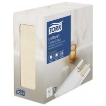 Tork Linstyle Cream Cutlery Bag Napkin
