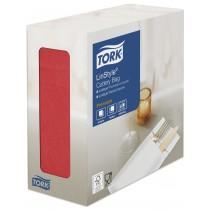 Tork Linstyle Red Cutlery Bag Napkin