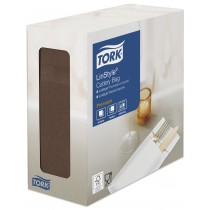 Tork Linstyle Cocoa Cutlery Pocket Napkin