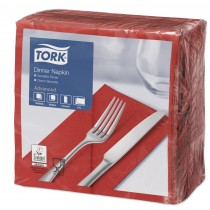 Dark Red Napkins 39cm 8 Fold
