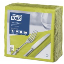 Tork Lime Dinner Napkins 39cm 2ply
