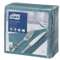 Tork Blue Green Dinner Napkins 39cm 2ply