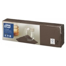 Tork Linstyle Cocoa Cocktail Napkins 23cm