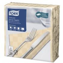 Tork Sand Textured Dinner Napkin 4 Fold 2ply 39cm