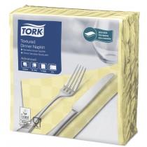 Tork Champagne Textured Dinner Napkin 4 Fold 2ply 39cm