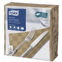 Tork Biscuit Textured Dinner Napkin 4 Fold 2ply 39cm