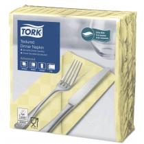Tork Champagne Textured Dinner Napkin 8 Fold 2ply 39cm