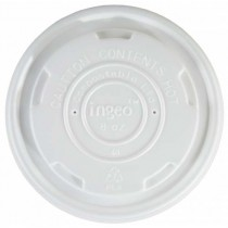 Lids for Eco-Friendly Soup Containers 8oz